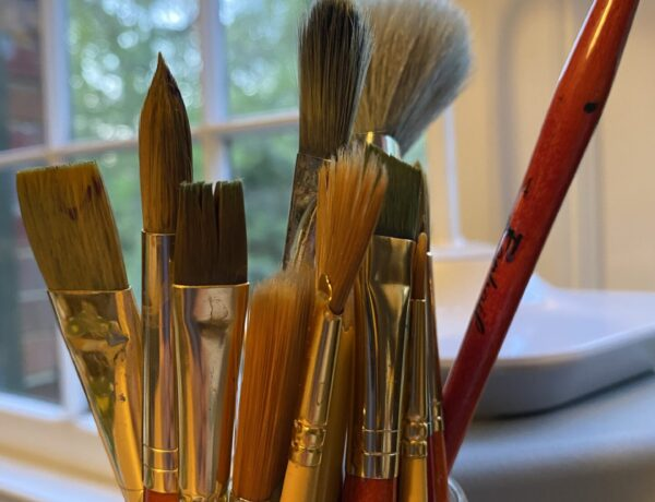 Let's rekindle some joy by wetting our paint brushes again.