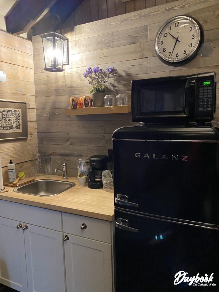 kitchenette in cottage