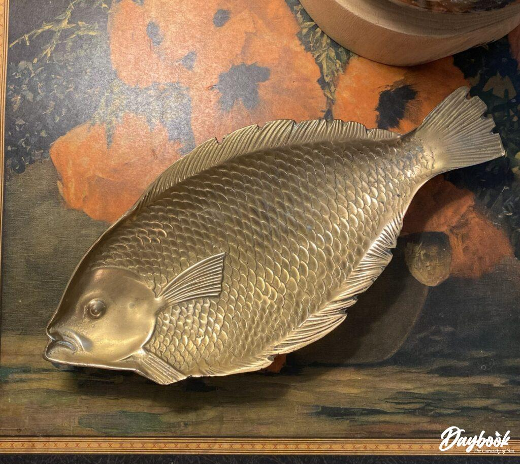 brass fish tray