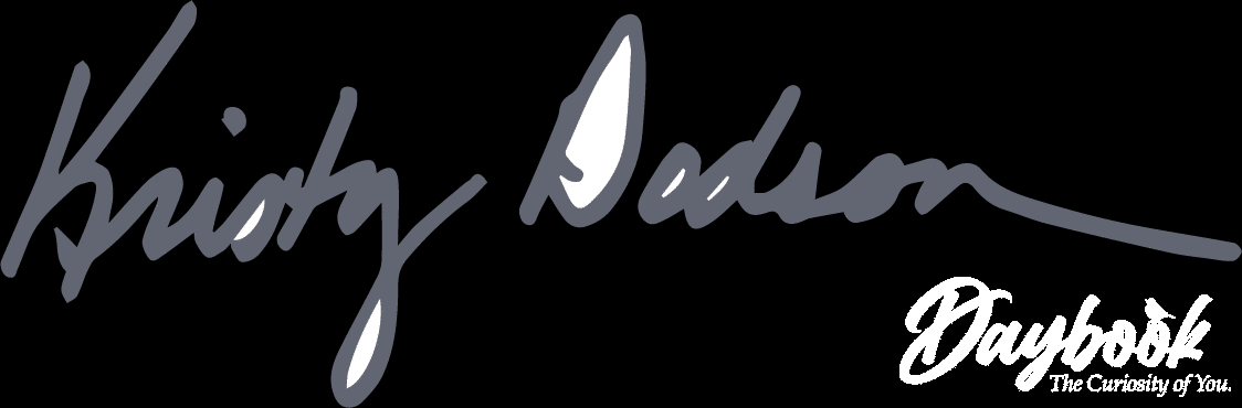 Kristy Dodson Daybook Blog Signature