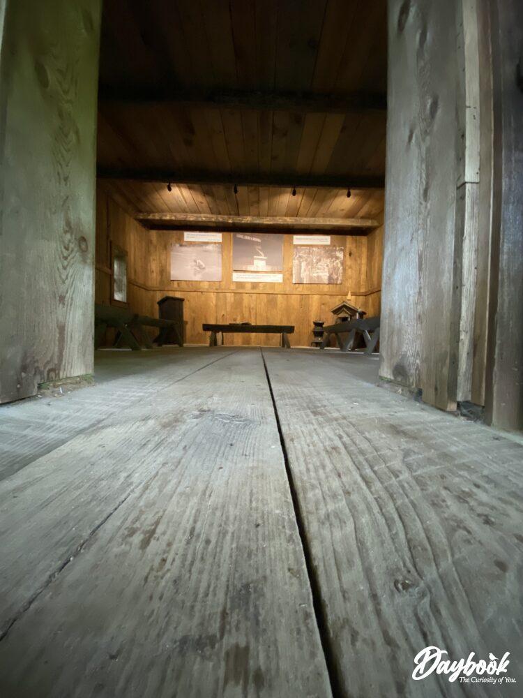 doorway of Foxfire Chapel doors
