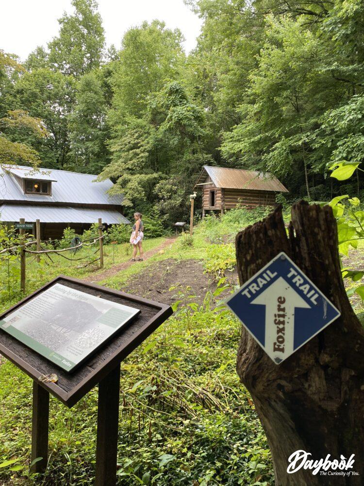 Foxfire museum pathway