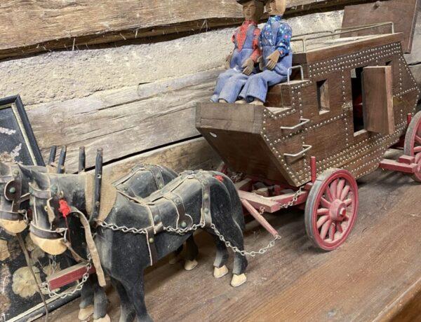 Foxfire Museum miniature wagon display