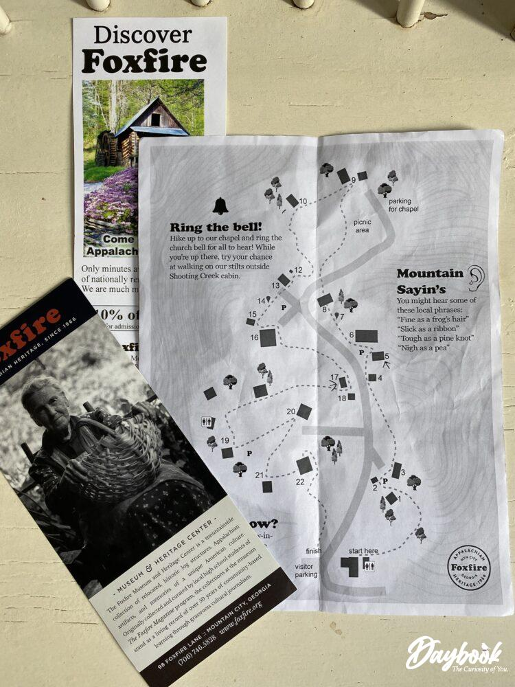 map of museum trail