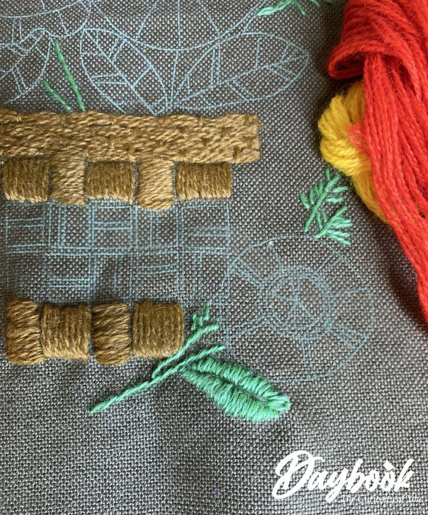 crewel embroidery kit